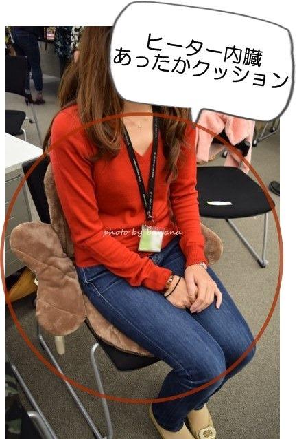 ヒーター内臓クッション座布団 椅子・座椅子