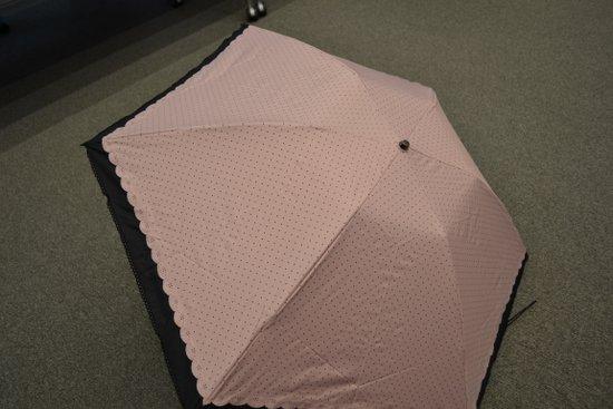 雨の日兼用の折りたたみ日傘