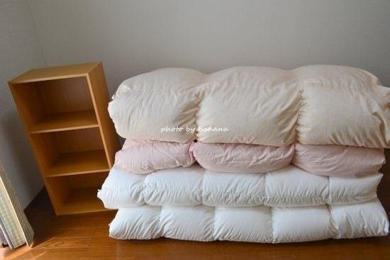 布団収納袋比較・クローゼットに布団収納術