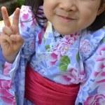 幼稚園夏祭り浴衣