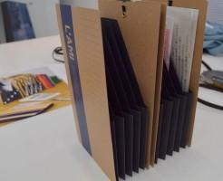 レシート領収書整理用ファイル コンパクトかわいい