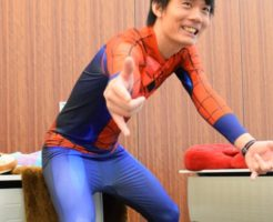 USJ 全身仮装 スパイダーマン