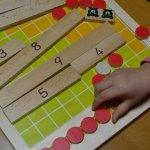 幼稚園児への足し算の教え方