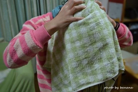 小学生用バスタオル