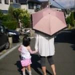 晴れ雨兼用折りたたみ傘